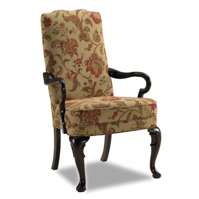 Sam Moore Adams Exposed Fabric Arm Chair
