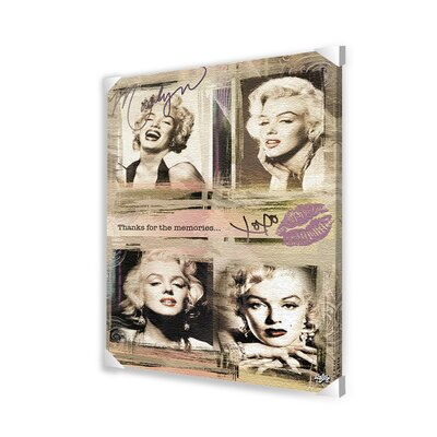 Marilyn Monroe Panels Canvas