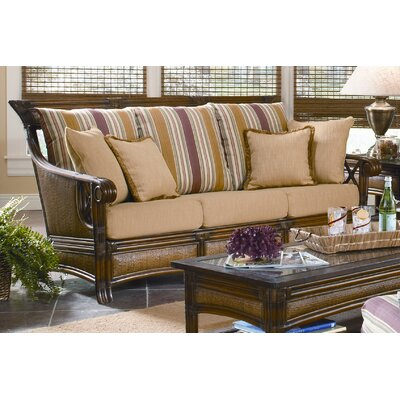 Pacifica Wicker Sofa with Cushions