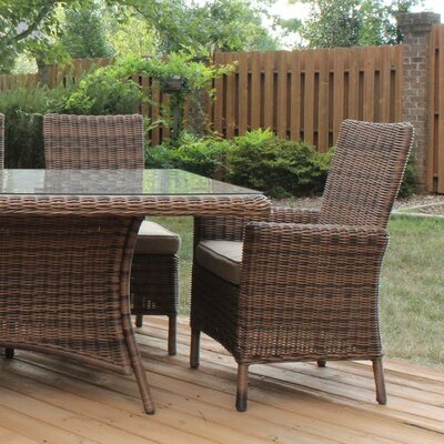Del Ray Wicker Arm Chair