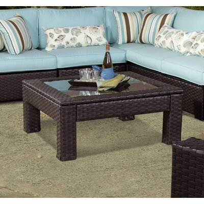 Tuscany Wicker Square Coffee Table