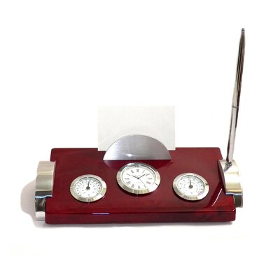 Thermometer and Hygrometer Clock