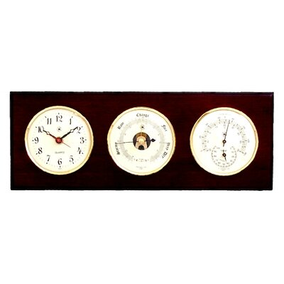 Clock, Barometer, Thermometer and Hygrometer