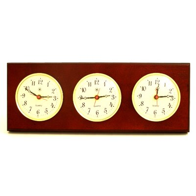 Bey-Berk Multizone Clock with 3 Plates