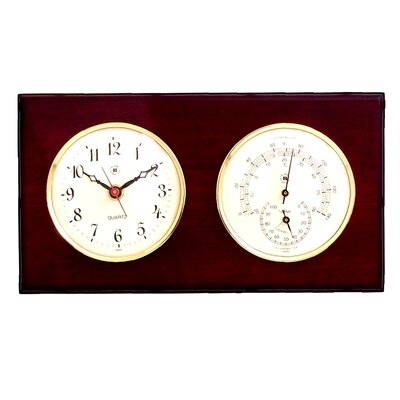 Bey-Berk Clock, Thermometer and Hygrometer