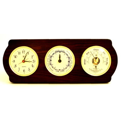 Bey-Berk Time Tide Clocks, Barometer and Thermometer