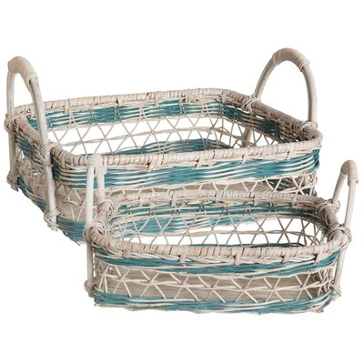 Midwest-CBK Open Weave Nesting Tray (Set of 2)
