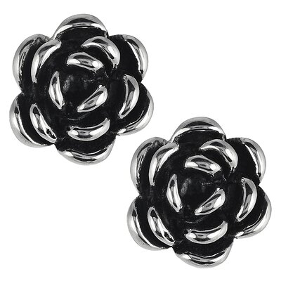 Tressa Collection Flower Stud Earrings