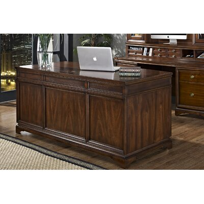 iQuest Furniture Madison Executive Desk with File Drawers