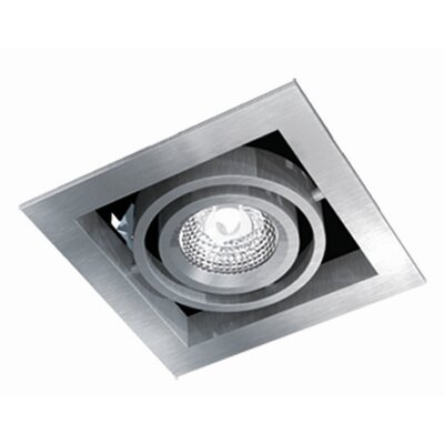 Bazz Series Cube 1 Light Recessed Trim Light
