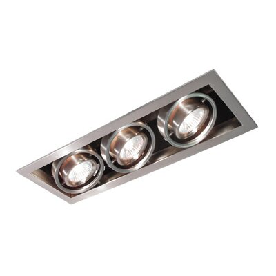 Series Cube 3 Light Recessed Trim Light
