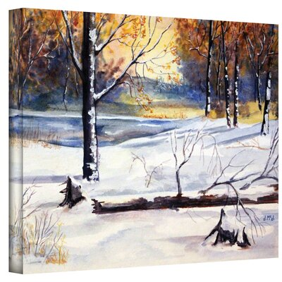 Art Wall Dan McDonnell ''Winter Woods'' Canvas Art