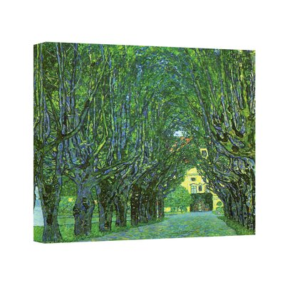 Art Wall Gustav Klimt ''Avenue in a Park'' Canvas Art
