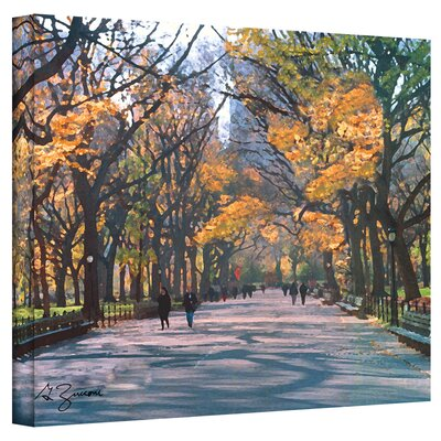 George Zucconi ''Central Park'' Canvas Art