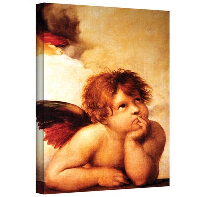 Art Wall Raphael ''Cherub'' Canvas Art