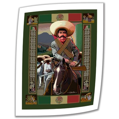 Art Wall Rick Kersten 'Zapata' Unwrapped Canvas Wall Art