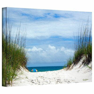 David Liam Kyle 'Ocean Path' Gallery-Wrapped Canvas Wall Art