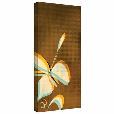 Jan Weiss 'Expresso Foral II' Gallery-Wrapped Canvas Wall Art