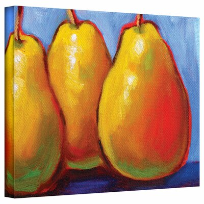 Art Wall Susi Franco 'Gang of Pears' Gallery-Wrapped Canvas Wall Art