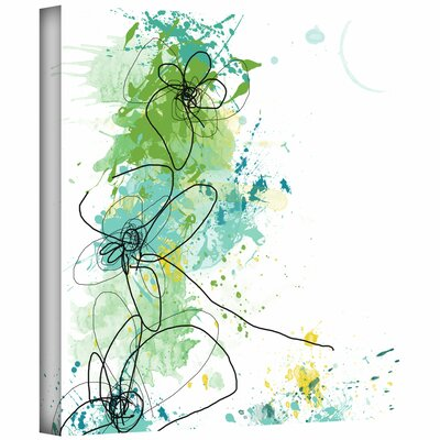 Jan Weiss 'Green Botanica' Gallery-Wrapped Canvas Wall Art