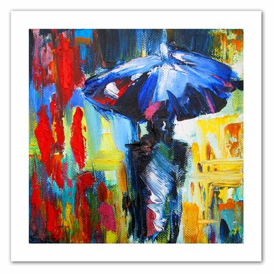 Art Wall Susi Franco 'Downtown Stroll' Unwrapped Canvas Wall Art