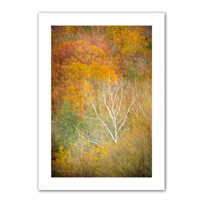 David Liam Kyle 'In Autumn' Unwrapped Canvas Wall Art