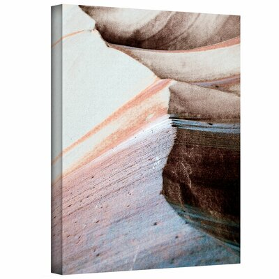 Art Wall Linda Parker 'Desert Sands Mountain' Gallery-Wrapped Canvas Wall Art