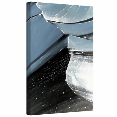 Linda Parker 'Frozen Mountain' Gallery-Wrapped Canvas Wall Art