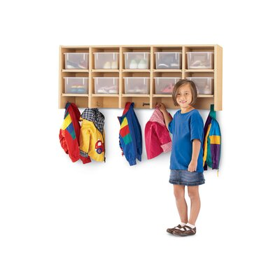 Jonti-Craft Coat Locker - Large Wall Mount