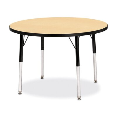 Jonti-Craft KYDZ Toddler Height Activity Table- Round (36&quot; Diameter)