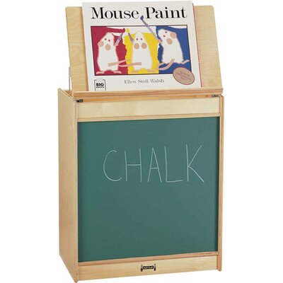 Jonti-Craft ThriftyKYDZ Big Book Easel - Chalkboard