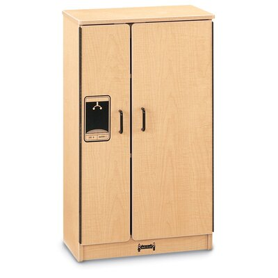Jonti-Craft School Age Natural Birch Refrigerator