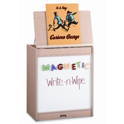 Jonti-Craft Magnetic Write-N-Wipe Big Book Easel