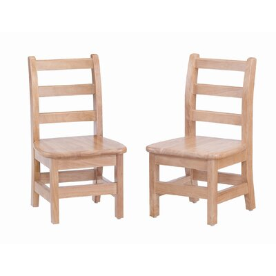 Jonti-Craft Ladderback Chair (Set of 2)