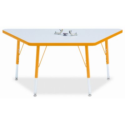 Jonti-Craft KYDZ Trapezoid Laminate Activity Table