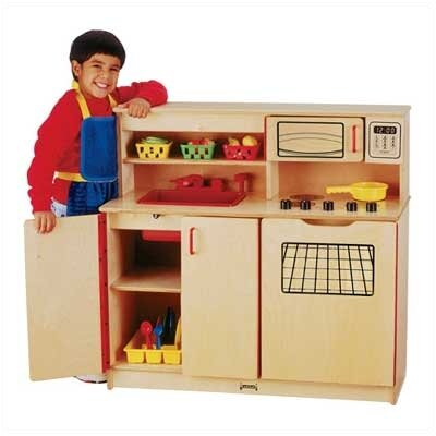 Jonti-Craft 4-in-1 Kitchen Activity Center