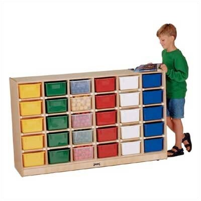 Jonti-Craft 30 Tray Mobile Storage