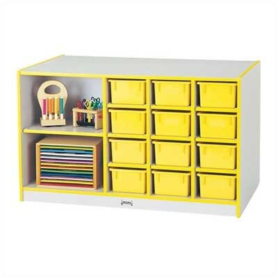 Jonti-Craft Rainbow Accents Storage Island
