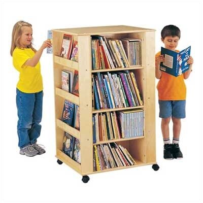 Jonti-Craft ThriftyKYDZ Multimedia Storage Rack