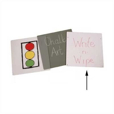 Jonti-Craft Write-n-Wipe Easel Panel - Primary