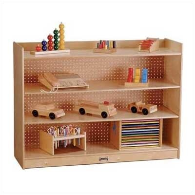 "Jonti-Craft 36"" H Mobile Bookcase w/ Lip"