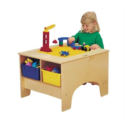 Jonti-Craft KYDZ Building Table - Lego® Compatible with Tubs