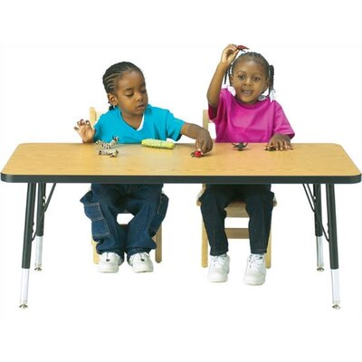 "Jonti-Craft KYDZ Activity Table-Rectangular (30"" x 72"")"