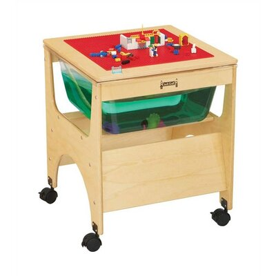 "Jonti-Craft See-Through Sensory Table - Rectangular (20.5"" x 20.5"")"