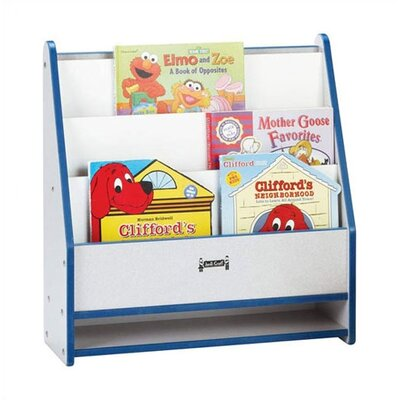 "Jonti-Craft 25"" H KYDZ Rainbow Accents Toddler Book Stand - Rectangular"