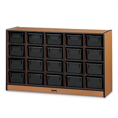 Jonti-Craft SPROUTZ® Mobile Cubbie Tray Storage
