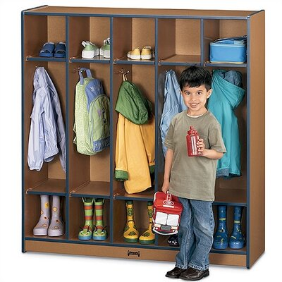 Jonti-Craft SPROUTZ® Coat Locker - 5 Sections