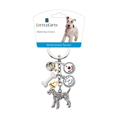 Little Gifts Wirehaired Terrier V3 Key Chain