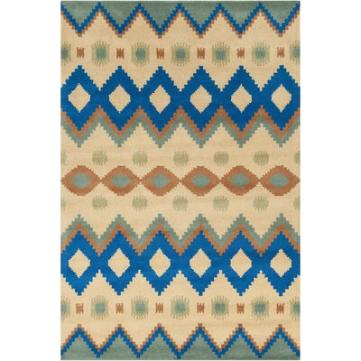 Filament Cinzia Yellow Abstract Rug
