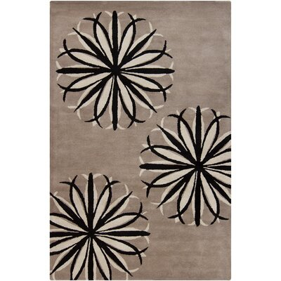 Filament  LLC Cinzia Light Taupe Floral Rug